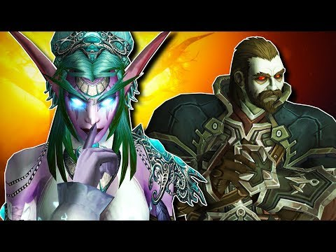 Where Will The Night Elves And Forsaken Go When Their Cities Are Destroyed? Could Warfronts Decide?