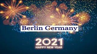New year in Germany |Fireworks | #Berlin #Germany #2021