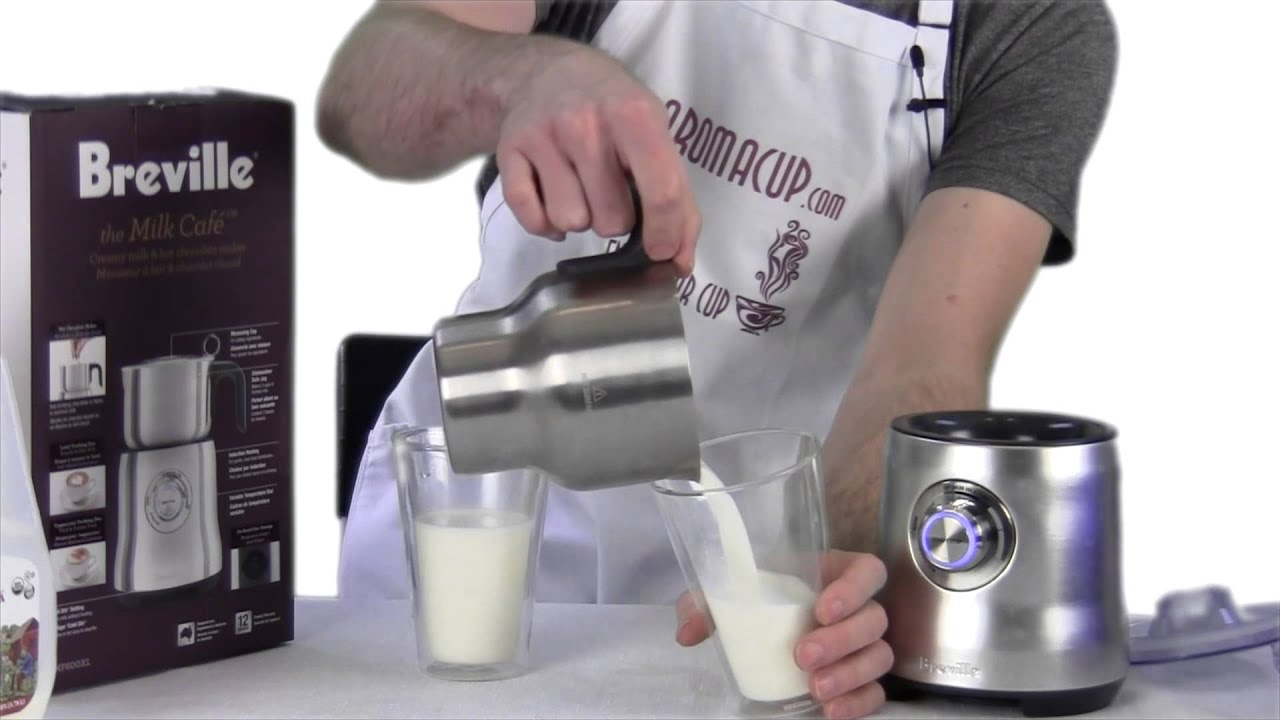 Breville Coffee Maker Stopped Working : Exclusive Review: Breville Milk Cafe Electric Frother - YouTube