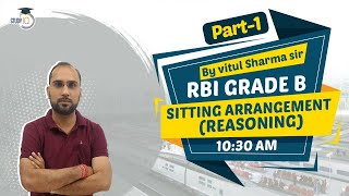 RBI Grade B 2021 - Reasoning Sitting Arrangement for RBI Grade B 2021 Part 1 #rbigradeb2021
