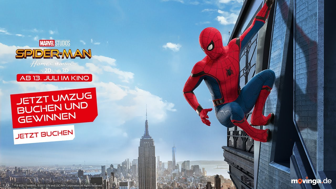 Spiderman Homecoming Kinostart