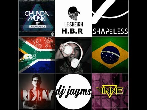 South African Live Studio Mix 6 (Brazilian Bass, Chunda Munki - Interference, Shapeless, Vinne)