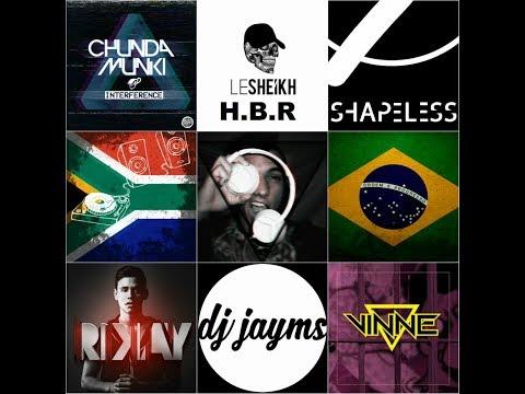 South African Live Studio Mix 6 (Brazilian Bass, Chunda Munki - Interference, Shapeless, Vinne)