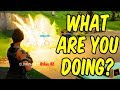 WHAT ARE YOU DOING? - Fortnite Funny Moments & Epic Stuff