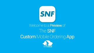 SNF - Mobile App Preview - SNF3891W