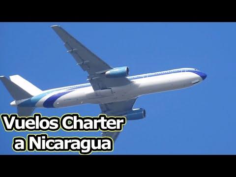 Nicaragua tendrá 9 vuelos charter en Marzo y Abril