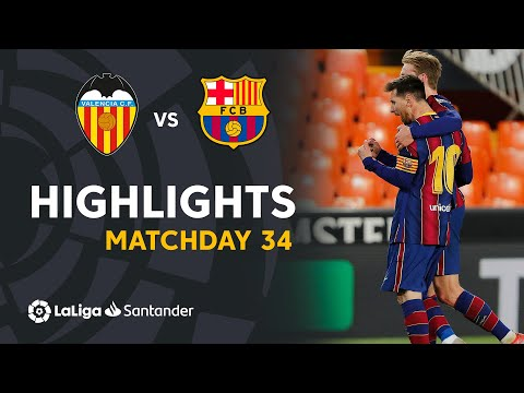 Valencia Barcelona Goals And Highlights