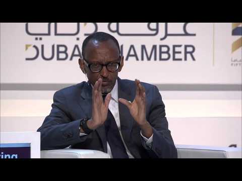 President Kagame at the African Global Business Forum | Dubai, 17 November 2015