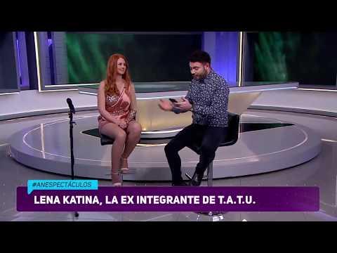 Lena Katina en #ANEspectáculos / 26 de enero