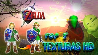 "Top 5 Texturas para Zelda Ocarina of Time ""Android"""