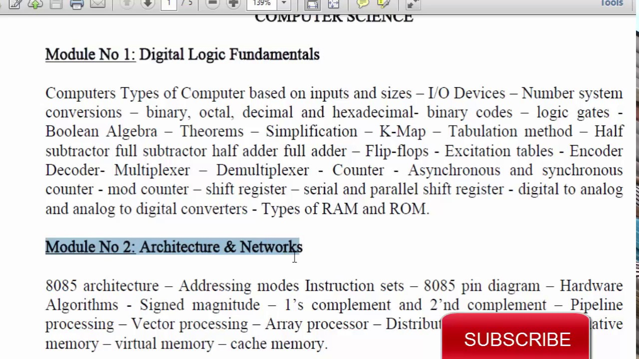 Pdf Net Exam Books Computer Science