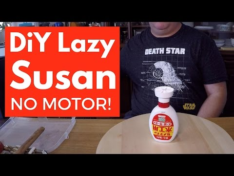 The Self Turning DIY Lazy Susan for Filmmaking - No Motor Needed