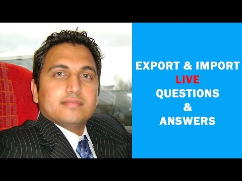 How to Start Export Import Business Question & Answer (Live)