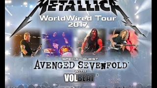 """METALLICA """"WorldWired Tour"""" with AVENGED SEVENFOLD & VOLBEAT (Official Trailer)!"""