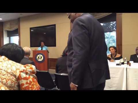 Rep. Karen Bass Hosts Africa Policy Breakfast on Contracting