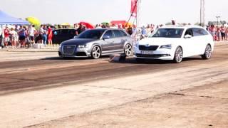 AUDI RS3 400HP vs SKODA SUPERB 400HP