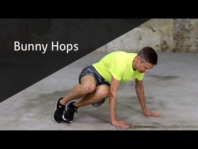 Bunny Hops - hoe voer ik deze oefening goed uit?