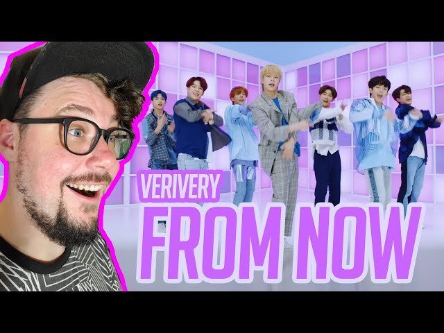 Mikey Reacts to VERIVERY - 딱 잘라서 말해 (From Now) MV