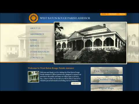 Greater Baton Rouge Real Estate: How To Find Lot Dimensions Online