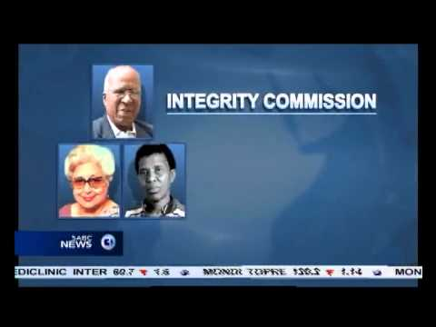 The ANC has appointed an Integrity Commission
