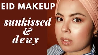 DEWY, SUNKISSED FRESH EID MAKEUP LOOK | ZAREEN SHAH
