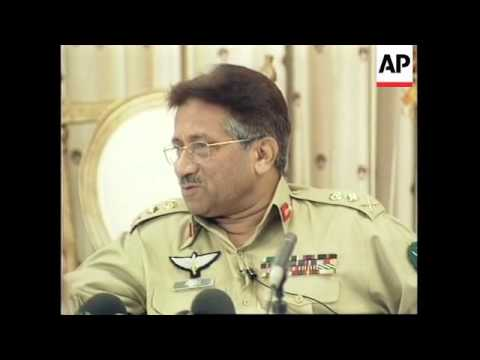 Musharraf presser following referendum victory