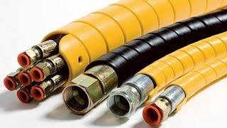 Защитная пружина для рукавов высокого давления.(Пластиковая защитная пружина для РВД. Применение и характеристики., 2013-12-12T09:52:59.000Z)
