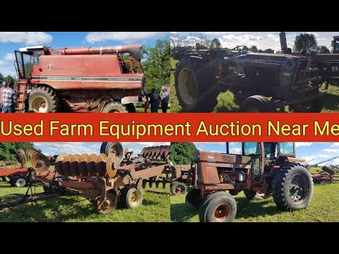 Used Farm Equipment Auction Near Me
