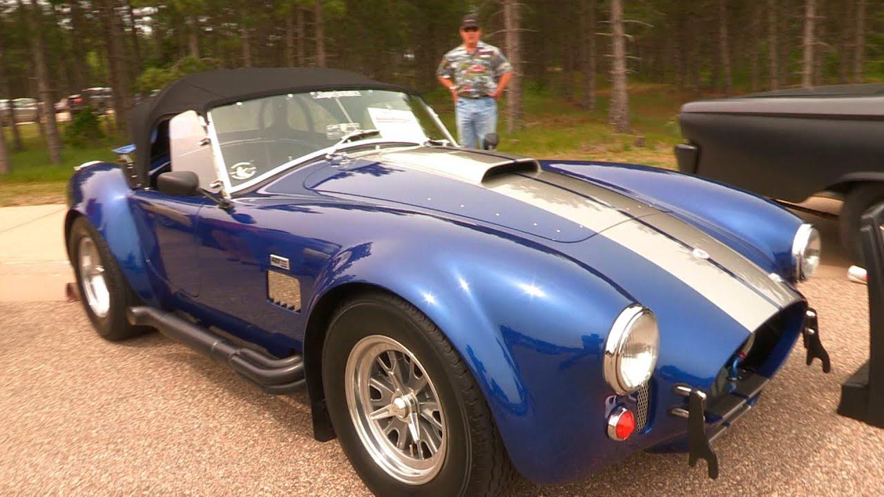 1965 Superformance Shelby 427 Cobra SC GT40 Race Tremec T3550 - YouTube