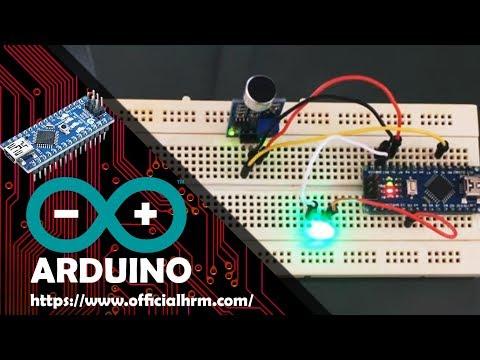 Arduino nano and Sound Detection Sensor Modul LM393