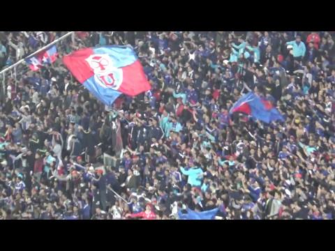 Impactante aliento de Los De Abajo cayendo 0-2 / Udechile vs Corinthians