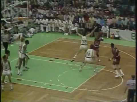 MICHAEL JORDAN: 63 pts vs Boston Celtics (1986 Playoffs-Game 2)