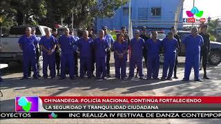 Policía Nacional continúa fortaleciendo la seguridad y tranquilidad ciudadana en Chinandega