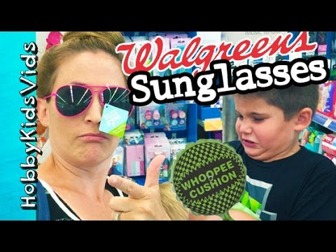 28ab353f86 Whoopie Cushion at Walgreens! HobbyMom HUNTS for Sunglasses