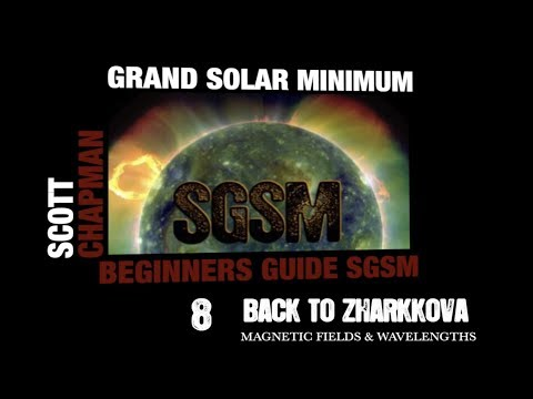 ⑧ Valentina Zharkova Magnetic Fields & Wavelengths SGSM Grand Solar Minimum Beginners Guide