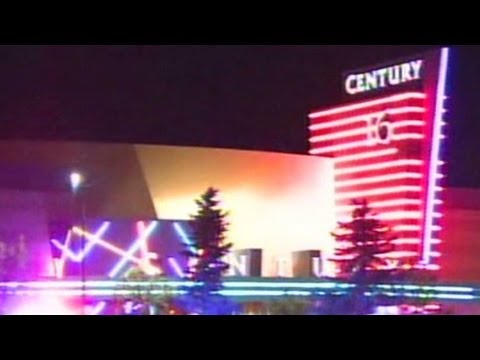 Inside the theater of the Aurora, Colorado shooting