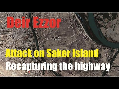 [ Syria ] SAA attacks ISIS recapturing the highway from Palmyra to Deir Ezzor