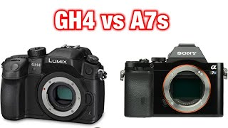 Sony A7s VS Panasonic GH4