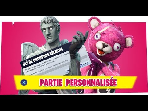 cle de matchmaking fortnite