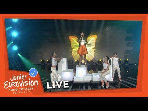 NICOLE NICOLAOU - I WANNA BE A STAR - LIVE - CYPRUS - JUNIOR EUROVISION 2017