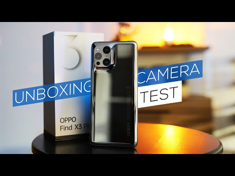 Oppo Find X3 Pro unboxing & camera test