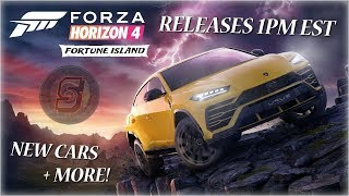 Forza Horizon 4 Fortune Island Expansion 1 Live Stream! Drift Club 2.0 😮 December DLC FH4