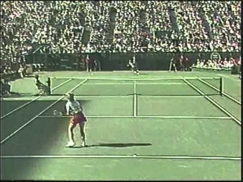 Chris Evert d. Carling Bassett - 1984 US Open SF