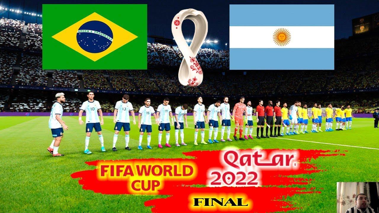 Brazil 2020 World Cup.Pes 2020 Argentina Vs Brazil Final Fifa World Cup Qatar 2022 Full Match All Goals Hd