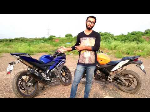 yamaha yzf r15 vs honda cbr 150r specifications