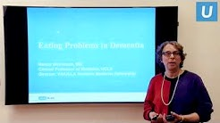 Difficulties Eating in Advanced Dementia | UCLAMDCHAT Webinars