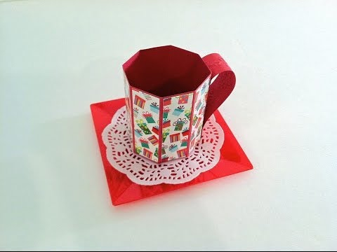 Project Share: Paper Treat Mugs