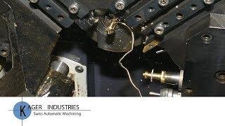 CNC Machined Parts - Swiss CNC Machined Parts - Custom Swiss CNC Parts