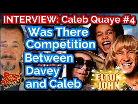 Was There Competition Between Elton's Guitarist's Caleb Quaye & Davey Johnstone?
