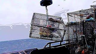 Deadliest catch POV Bering sea crab fishing